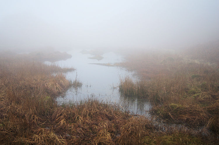 Tarn near Black Mire Cairn