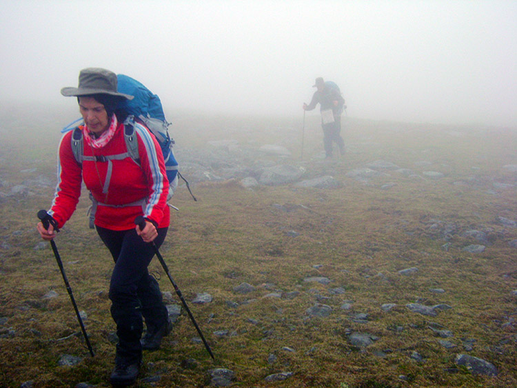 Approaching the summit of Nethermost Pike