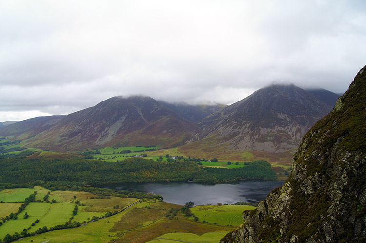 Loweswater, Whiteside and Grasmoor
