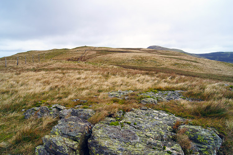 Looking north to Gavel Fell