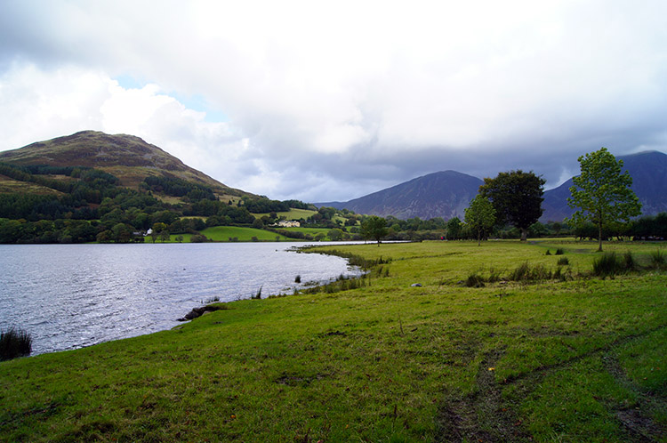 Loweswater with Loweswater Fell beyond