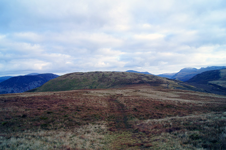 The path from Grike to Crag Fell