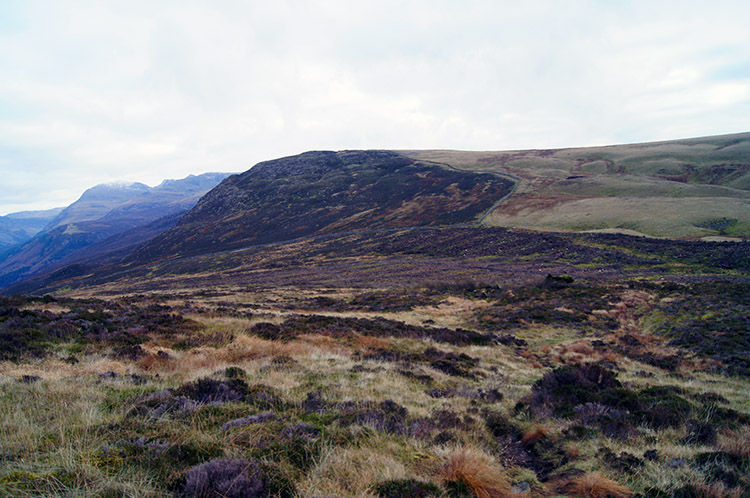 Heading south from Crag Fell to Whoap