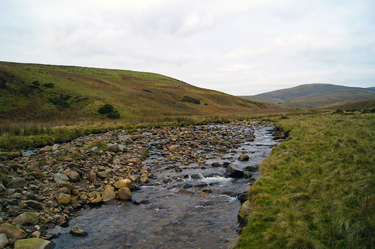 River Calder at Lankrigg Moss
