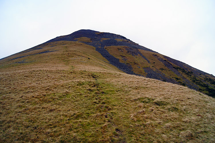 Continuing up Kirk Fell to Highnose Head