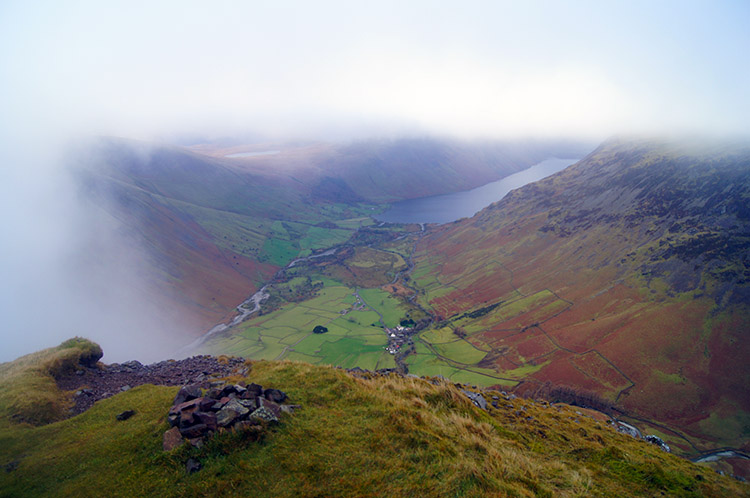 Cloud streaming over Wasdale
