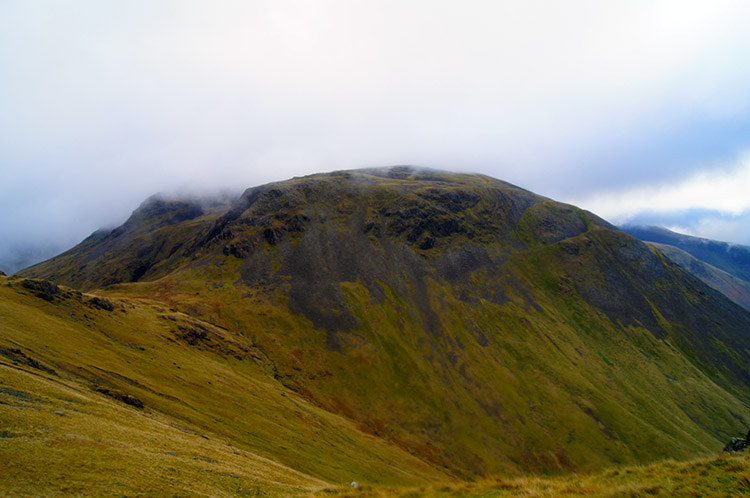 Looking across to Kirk Fell