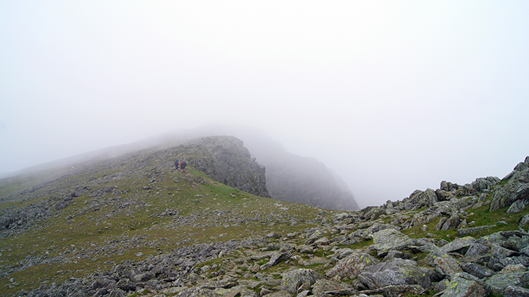 Walking from Buck Pike to Dow Crag