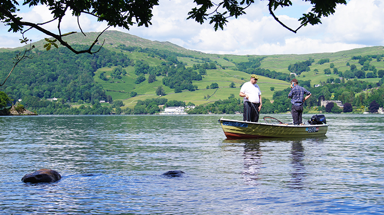 Fishing on Windermere