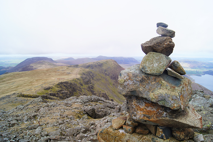 Taking in the view from High Stile