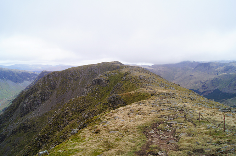 View to High Crag from High Stile