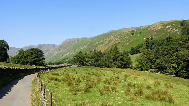 Walking into Grisedale