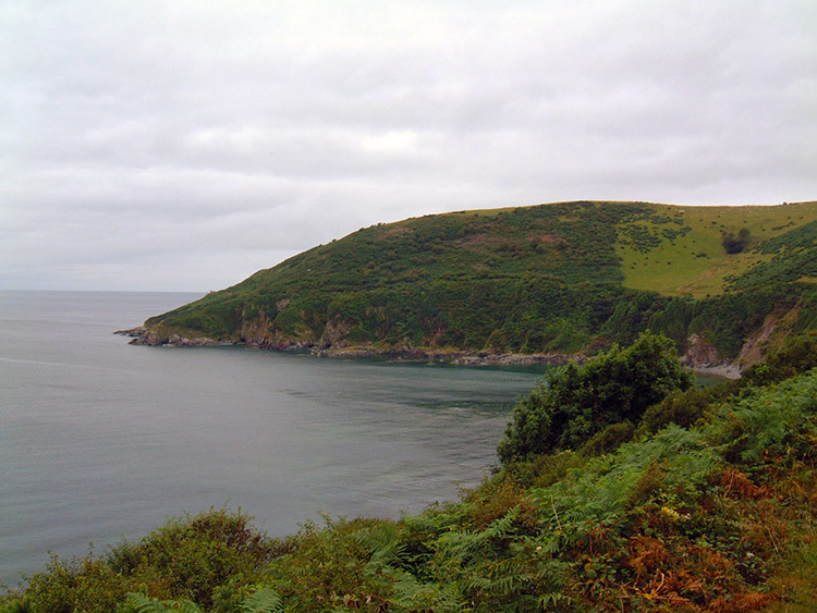 Coastal scenery near Polperro