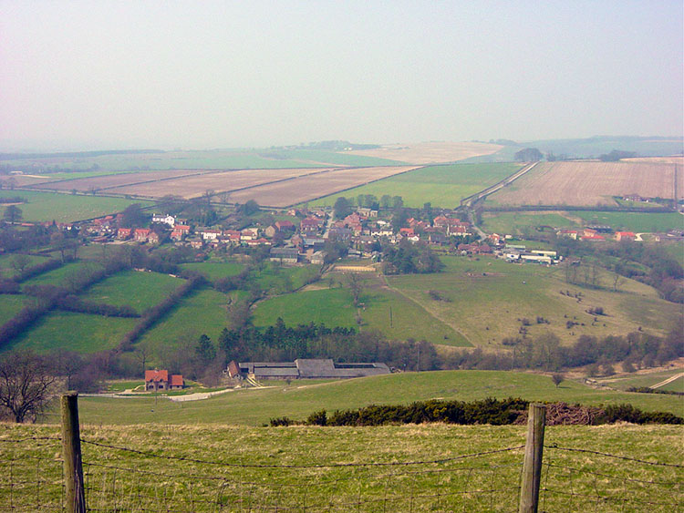 Looking towards Millington