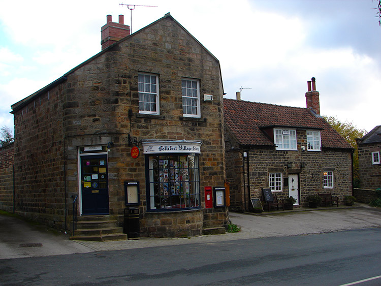 Post Office and Harewood Arms in Follifoot