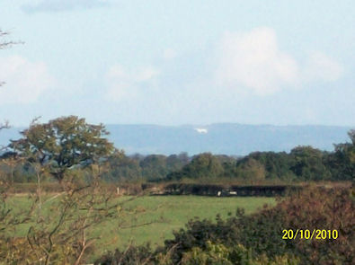 Kilburn White Horse seen from Spofforth!