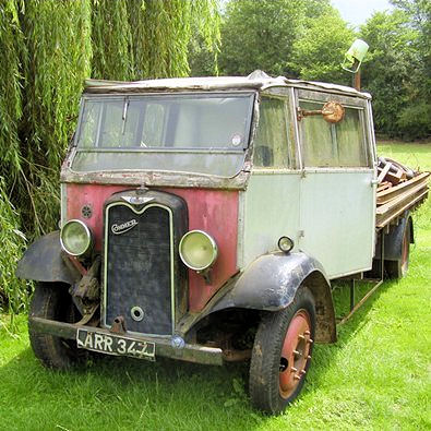 Old lorry at Kings Cliffe