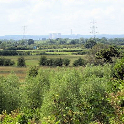 Trent valley distant views - Rugeley power station