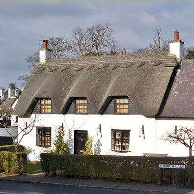 Thatched cottage Thorpe Satchville