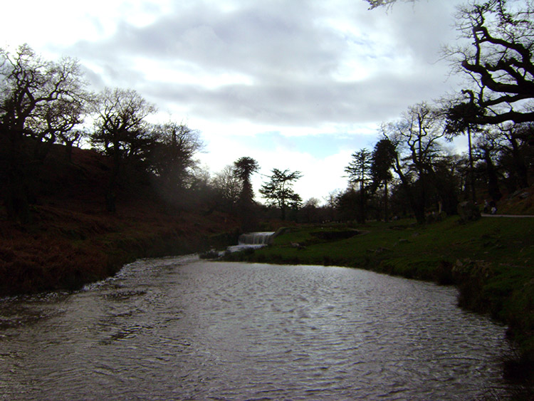River Lin in Bradgate Country Park