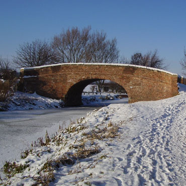Grantham Canal - Denton Wharf Bridge (No.65)