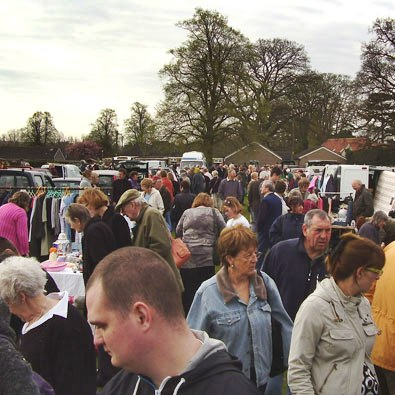 Fulbeck Car Boot sale April 2011