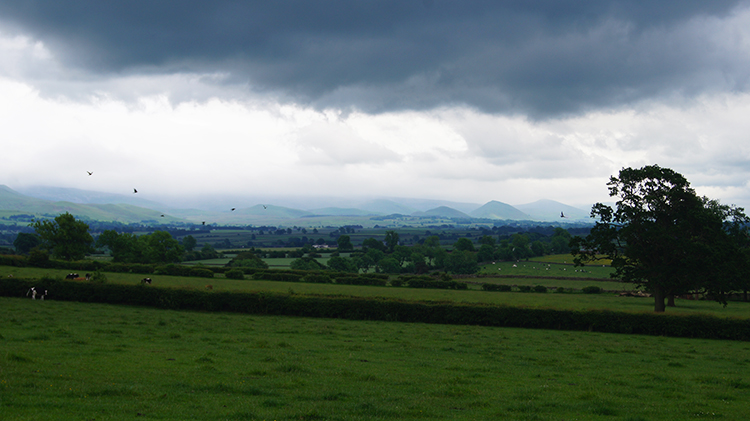 Storm clearing over the North Pennines