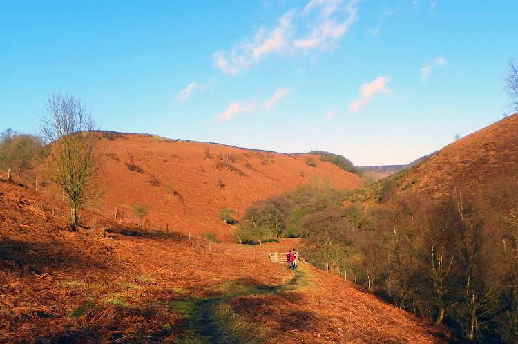 Walking into the Hole of Horcum