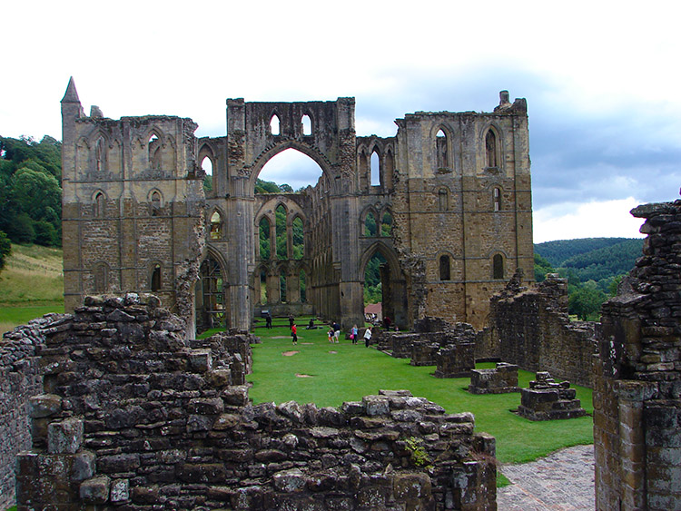 The Presbytery at Rievaulx Abbey