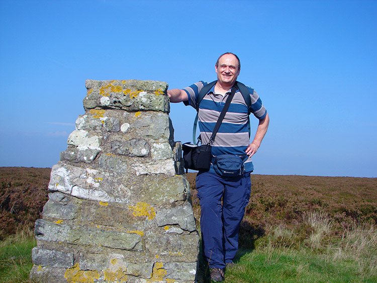 The trig point on Black Hambleton