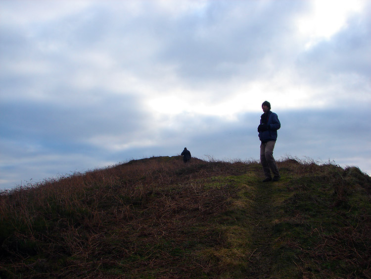 On the ridge of Hawnby Hill