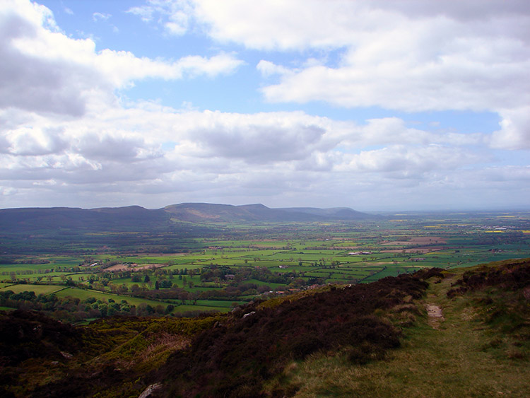 The moors as seen from Captain Cook's Monument