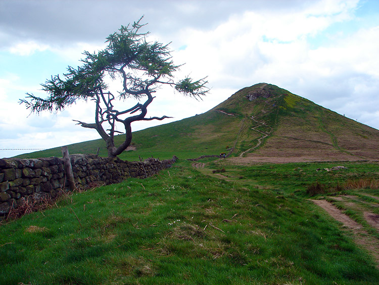 The climb to Roseberry Topping