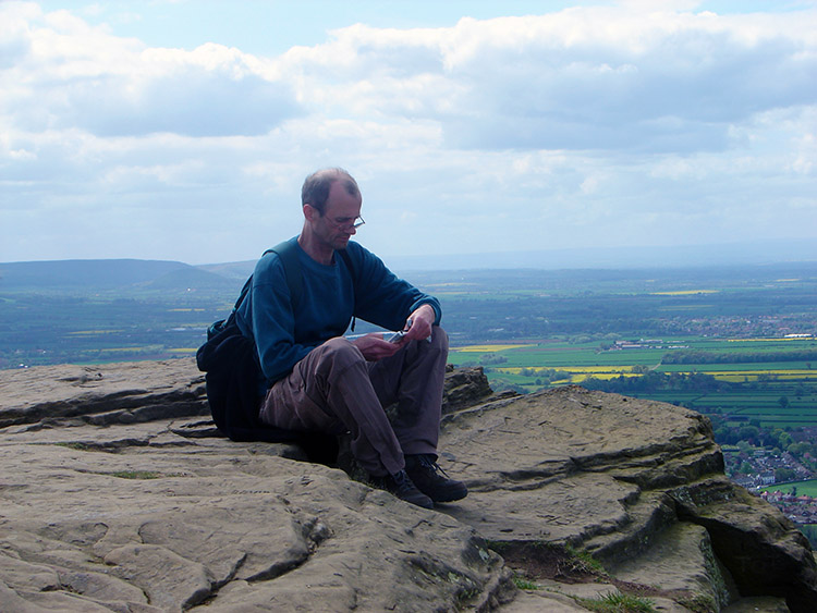 Contemplation on Roseberry Topping