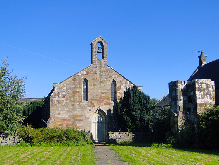 The church in Rosedale Abbey