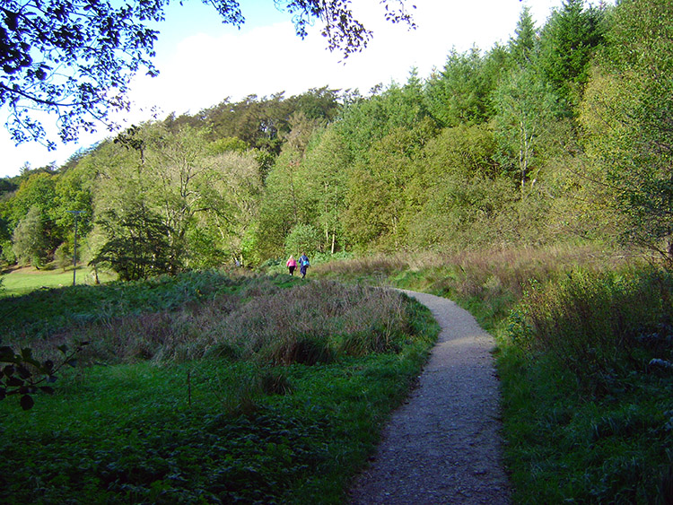 The path from Stain Dale to Dove Dale
