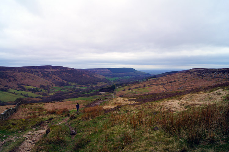 Looking back down to Scugdale