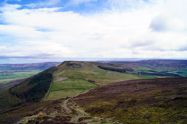 View from Cringle Moor to Hasty Bank