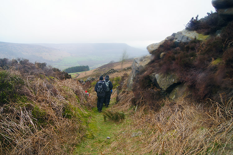 From Barker's Crags to Scugdale