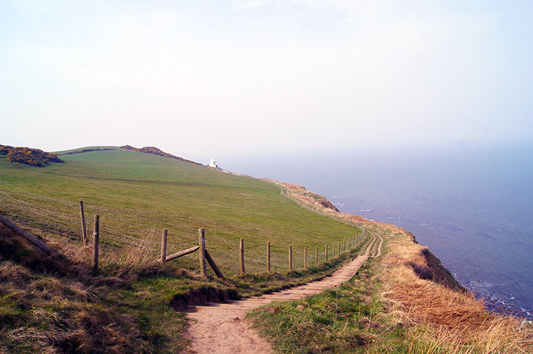 The coast path to Whitestone Point