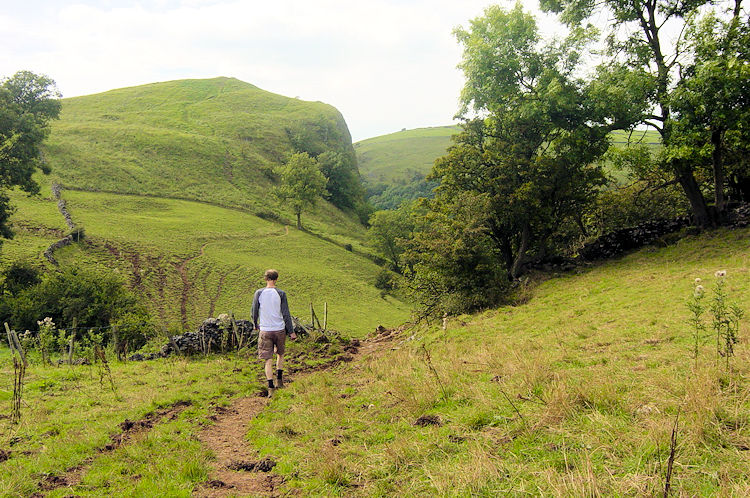 Walking from Wetton to Thor's Cave