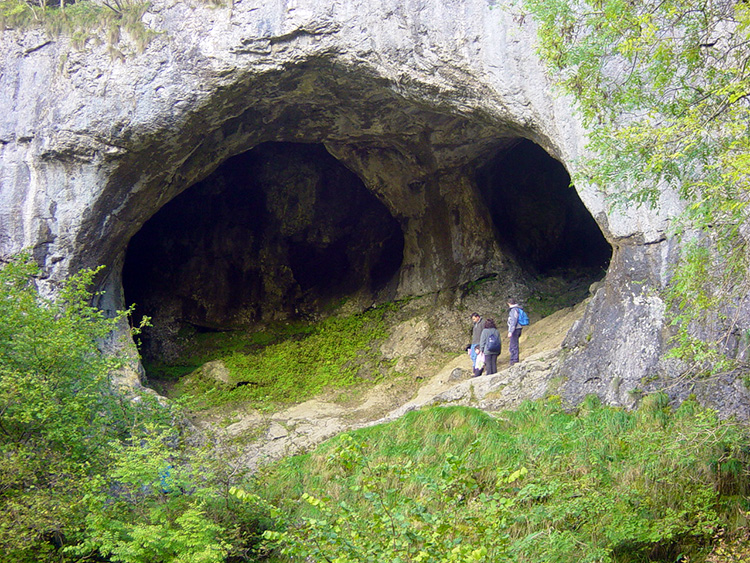 The caves of Dove Holes