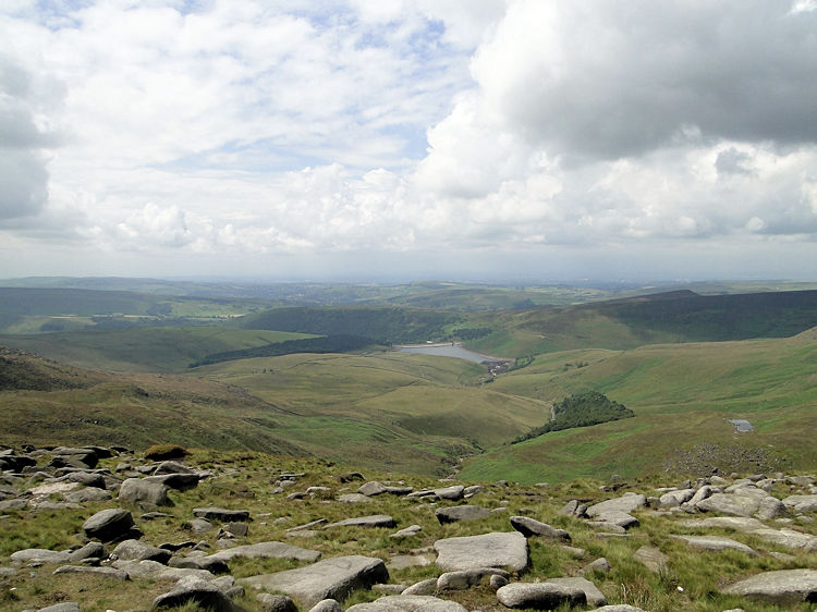 View to Kinder Reservoir