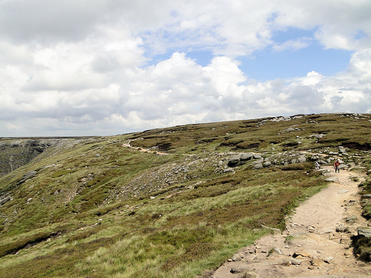 Pennine Way on Kinder Scout
