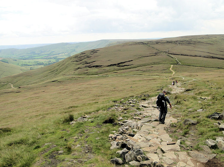 Path from Kinder to Jacob's Ladder