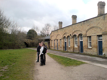 The beginning of the Monsal Trail