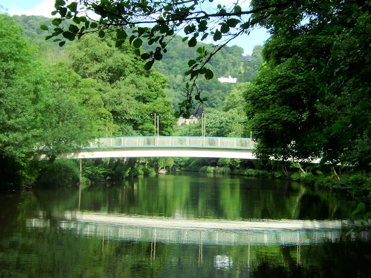 Bridge and reflection in the Derwent