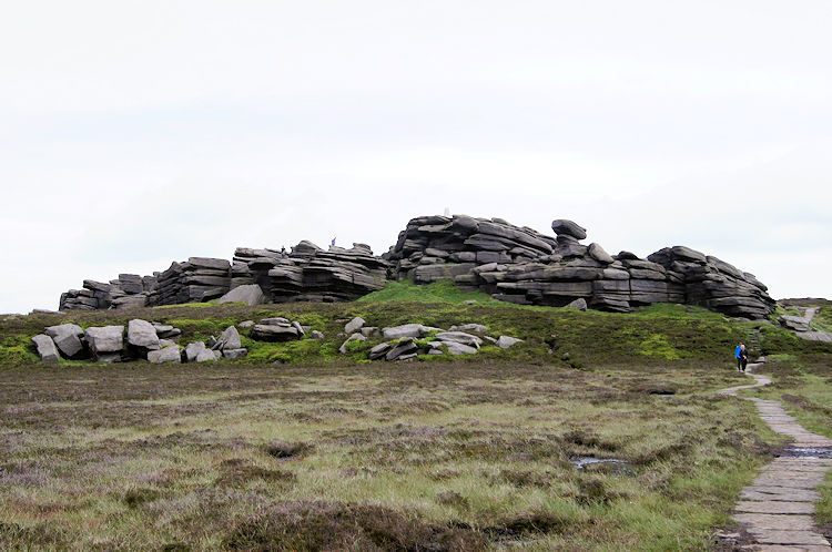 The summit of Back Tor