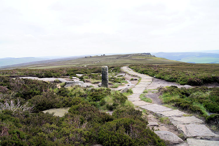 The path across Derwent Edge