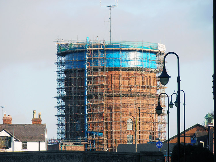 Bringing new life to the old water tower
